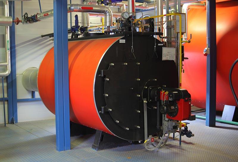 Gas steel boiler