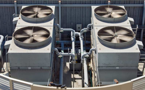 HVAC commercial air conditioners